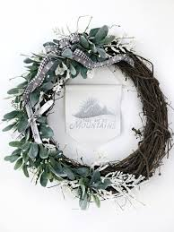 Christmas Paper Flower Wreath Tissue Paper Floral Wreath Hallstrom Home