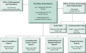 Cancer Chart Division Of Cancer Prevention And Control Organization Chart