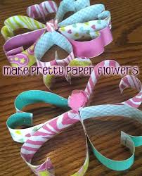 Paper Flower Crafts For Kindergarten How To Make A Pretty Paper Flower Craft With Kids Woo Jr Kids