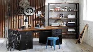 office industrial design. Fancy Industrial Home Office Design Ideas O