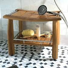 wall mounted folding teak shower bench fold down seat