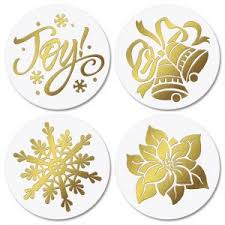 Envelope Seals with Christmas Designs | Colorful Images