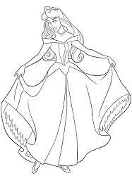 Disegni Da Colorare Aurora La Principess Disney Al Ballo Gif Animate