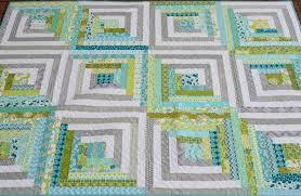 Hyacinth Quilt Designs: My modern Log Cabin quilt... & My modern Log Cabin quilt. Adamdwight.com