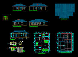 house plan autocad format home deco plans