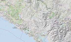 Montenegro 1 500 Topo Rocketroute