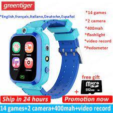 S27 Trẻ Em Đồng Hồ Thông Minh Smart Watch 14 Trận Đồng Hồ Thông Minh  Smartwatch