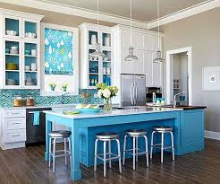 blue kitchen wall colors.  Blue View In Gallery Blue And Nuetral Kitchen With Dark Flooring Inside Wall Colors