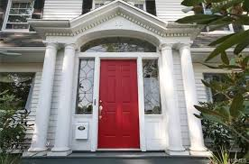 cottage style front doors35 Different Red Front Doors Many Designs  Pictures