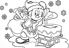 Children love christmas and everything associated with it. Mickey Mouse Christmas Coloring Pages Best Coloring Pages For Kids