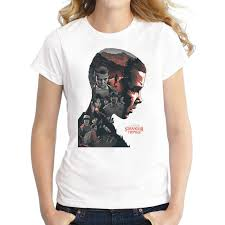 Newest 2020 Fashion Stranger Things T Shirt Women's Mike Dustin Lucas  Eleven Will T shirt Summer Hipster Brand Tops Tee Clothing|T-Shirts| -  AliExpress