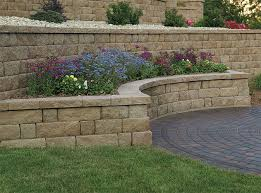 Small Picture retaining wall ideas Retaining Wall and Freestanding Wall Block
