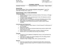 Resume List Of Technical Skills For Resume Skills In Resume