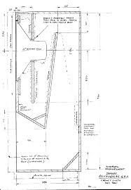 cabinet design. Tannoy Rectangular GRF Design Plans (drawn By, And Courtesy P. Stinson) Cabinet P