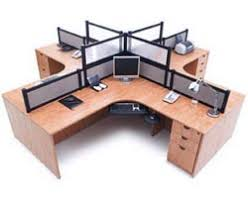 arrange office furniture. Stock #82076 - NDI Office Furniture PLB02 Complete Four Person Workcenter Suite With Divider Panels Arrange E