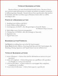 Proper Business Letter Format Semi Block Letter Format Formal Sample Friendly For Kids Copy Image