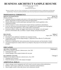 architect resume format business architect resume example free resume resumecompanion