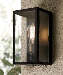 Southampton  Light Small Wall Sconce In Antique Black Outdoor - Exterior barn lighting