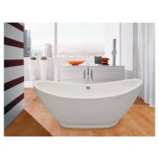 aquatica purescape 65 x 30 freestanding acrylic slipper tub
