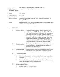 Template For A Speech 7 Informative Speech Outline Templates Pdf Free