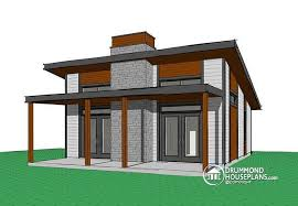 Modern cabins  House plans and Open floor plans on Pinterest