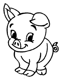 Small Picture Pig Coloring Pages GetColoringPagescom
