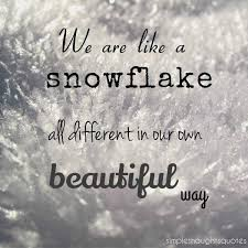 Snowflake Love Quotes