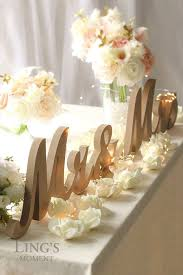 trendy wedding letters decoration of mr and mrs signs wooden letters rustic wedding