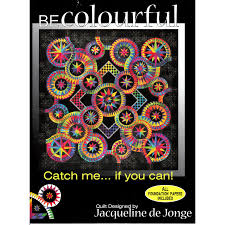 Catch Me If You Can by Jacqueline de Jongue by BeColourful Quilts ... & Catch Me If You Can by Jacqueline de Jongue by BeColourful Quilts by  Jacqueline de Jongue ... Adamdwight.com