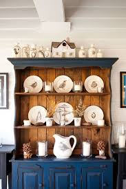 ... Dining Room Ideas, Astounding Blue Brown Rectangle Contemporary Wooden Dining  Room Hutch Stained Ideas: ...