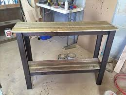 Delighful Diy Pallet Sofa Table Entryway Foyer Furniture David Projects Throughout Inspiration