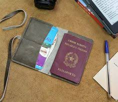 items similar to leather pport cover italian leather light gunmetal travel wallet pport case travel doent by valentina
