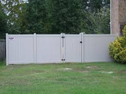 black vinyl privacy fence. 4 Ft Vinyl Fence 6 Privacy Tan Black S