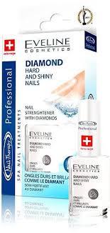 Eveline Cosmetics Spa Nail Diamond Hard And Shiny Nails 12 Ml