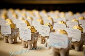 fall wedding place card holders. lucky elephant candy holder, place card holder wedding decoration idea#2485117 - weddbook fall holders