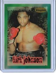 1996 RINGSIDE KIRK JOHNSON BOXING CARD #14 ~ CANADA | eBay