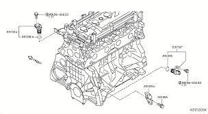 nissan versa hatchback oem parts nissan usa estore distributor ignition timing sensor 221