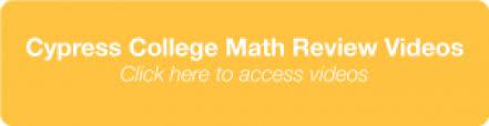 Mathematics Cypress College