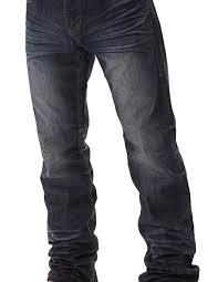 Tuff Jeans Size Chart B Tuff Western Denim Jeans Mens Kirk Bootcut Dark Wash Mkrdar