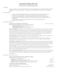 Sample Resume For Electrical Engineer Charming Electrical Engineer ...