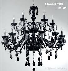 modern black chandelier black glass crystal chandelier light modern black chandeliers restaurant chandelier glass candle chandeliers