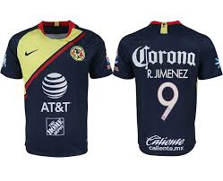 China Jerseys 9 Stitched From With 2018-2019 Free Jersey 00 201808301606553 Soccer Authentic Version Away Cheap America 21 Nfl - Club Blue Shipping Aaa Men