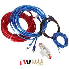 car amplifier wiring kit solidfonts car audio amp wiring kit ewiring