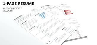 Modern Minimalist Resume Free Template 1 Page Minimalist Resume Template For Modern One Free Download