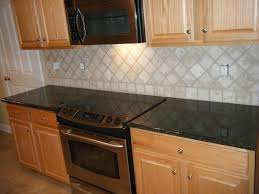 Granite Tiles For Kitchen Natural Kitchen With Black Granite Tile Countertop Design Plus