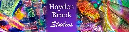 Hayden Brook Studios Dichroic Fused Glass Jewelry by HaydenBrook