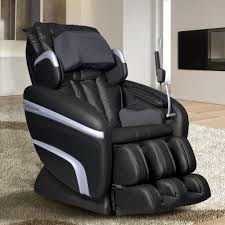 black leather massage chair. titan osaki black faux leather reclining massage chair
