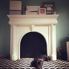 faux fireplace mantels mantel with storage