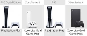 The ps5 console will set you back an rrp of £499.99, while the ps5 digital edition will retail at £359.99. Playstation 5 And Ps5 Digital Edition Vs Xbox Series X And Xbox Series S
