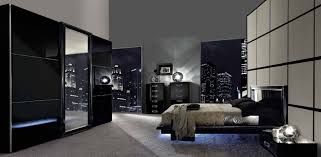Easy Black Contemporary Bedroom Set About Home Decorating Ideas - Black modern bedroom sets